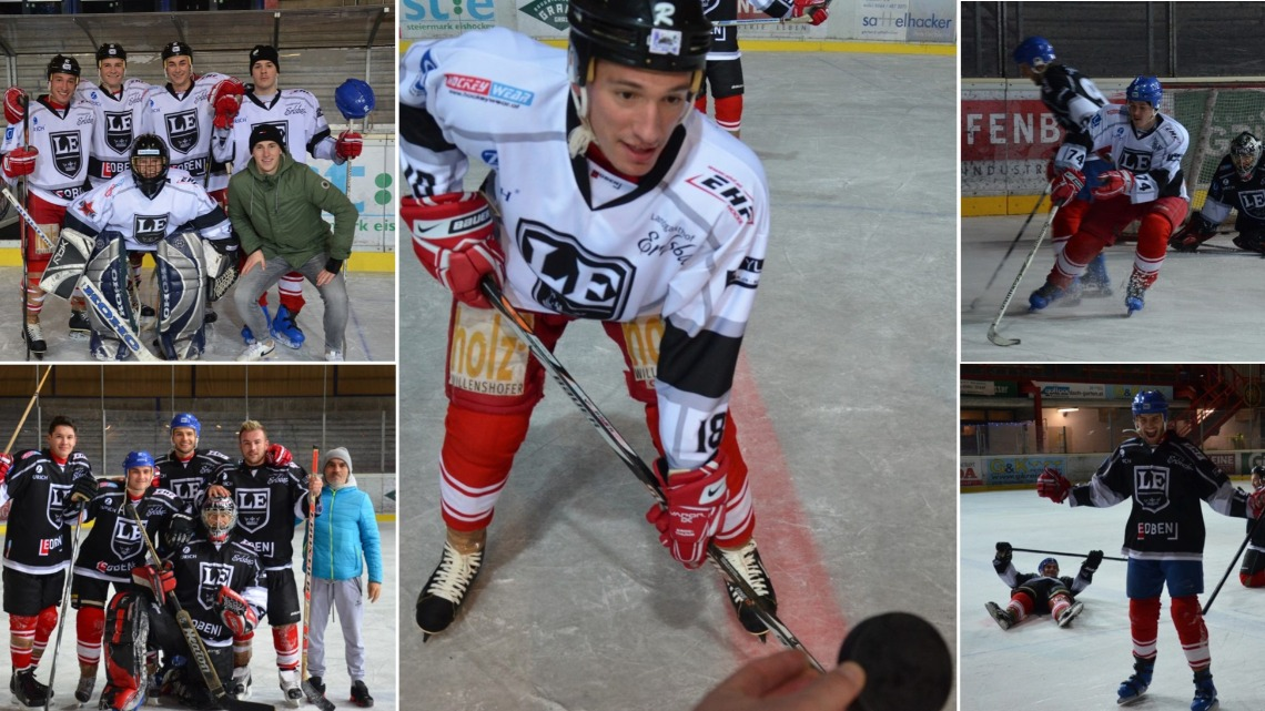 Eishockey-Match: Team Sencar vs. Team Lang